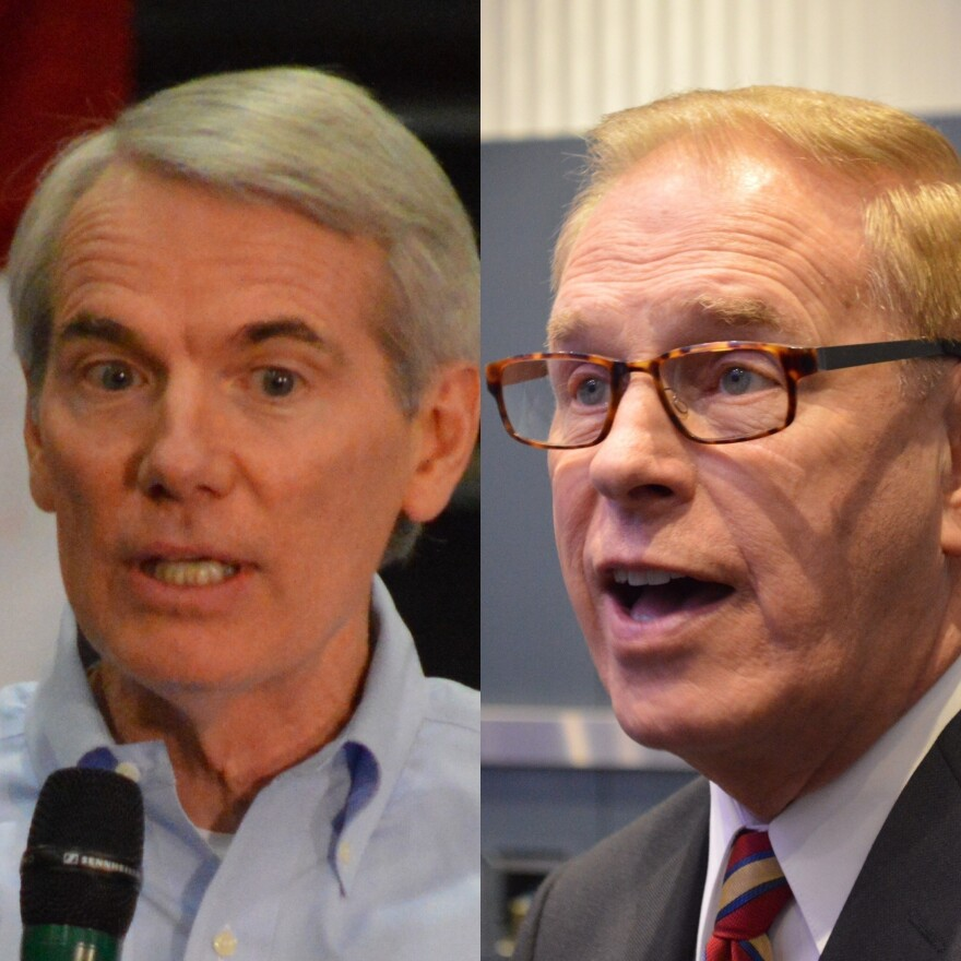 U.S. Sen. Rob Portman (R-Ohio); former Gov. Ted Strickland (D-Ohio)
