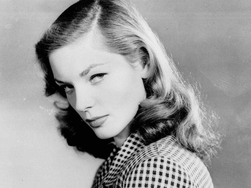 Lauren Bacall in a 1944 photo.