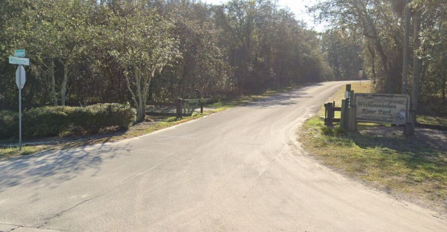 Withlacoochee River Park entrance
