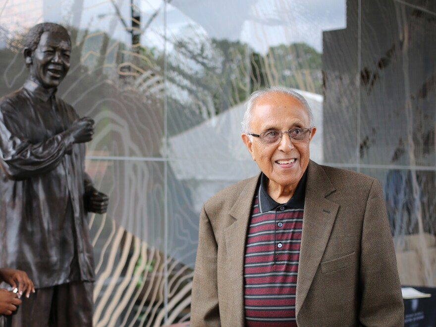 Ahmed Kathrada, an anti-apartheid activist and close friend of former South African President Nelson Mandela, died Tuesday in Johannesburg.