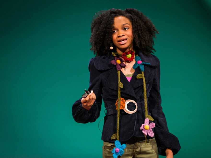 Animator Maya Penn, 13, discusses her business and philanthropy at the TEDWomen conference.