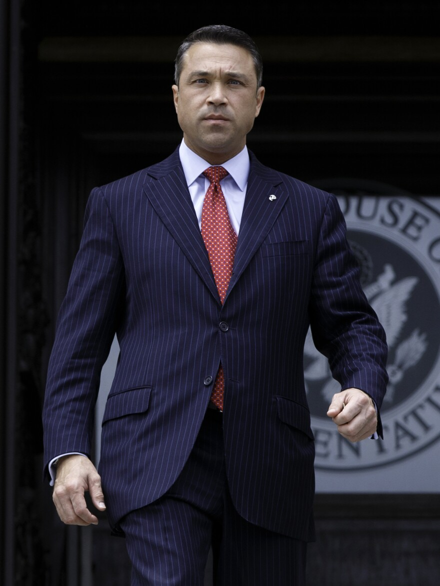 Congressman Michael Grimm is facing a 20-count federal indictment but despite the charges, Grimm stands a decent chance of being reelected in New York.