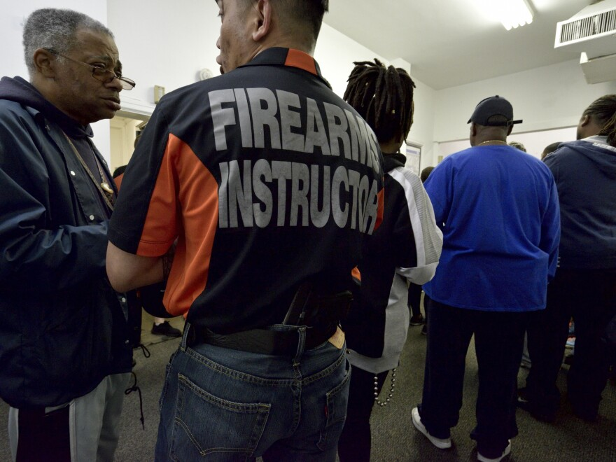 The Philadelphia group Black Guns Matter offered firearms education and safety training at Philly Fire Arms Academy in May.