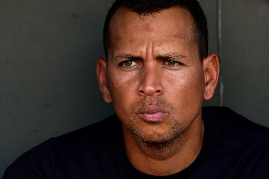 Yankees third baseman Alex Rodriguez in September 2013.