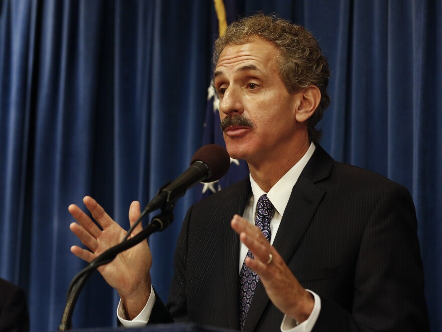 "Los Angeles city attorney Mike Feuer has taken action against several companies selling supposed treatments or ""at-home"" test kits for the coronavirus."