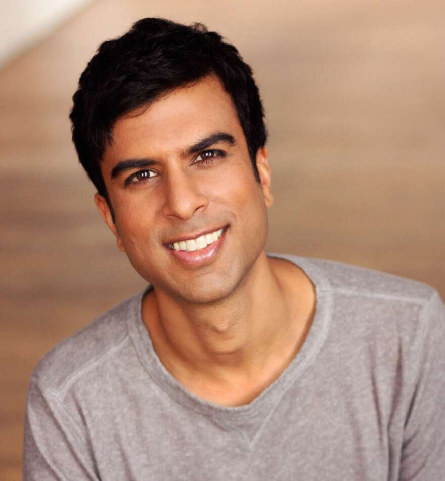 """Soman Chainani is the author of """"The School for Good and Evil series. He lives in New York City."""