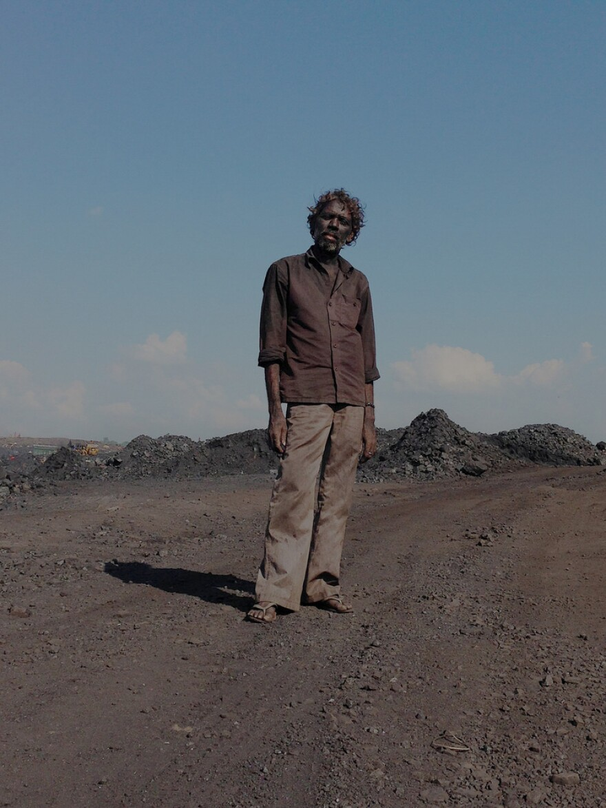 This laborer at a mine in Jharia earned $2 for loading four trucks with coal.<strong> </strong>