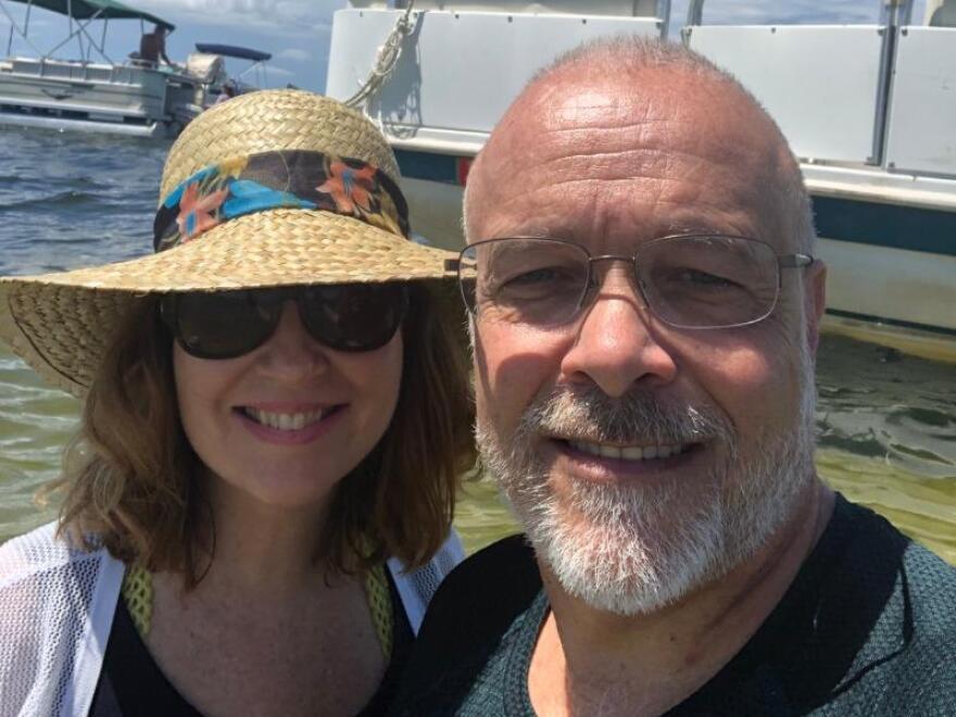 Kristin Jacobs and her partner, Steve Vancore