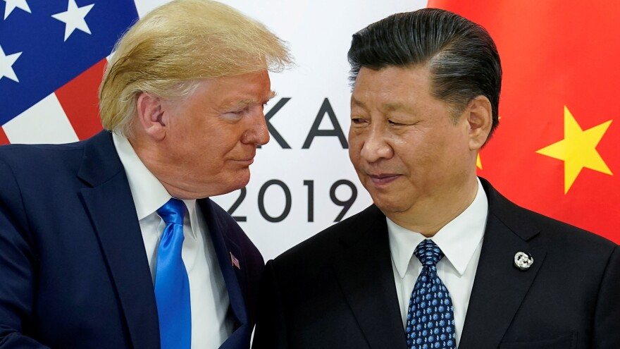"President Trump and China's President Xi Jinping, shown in 2019, have faced criticism for their handling of the coronavirus. Both are now pushing hard for a vaccine. The United States has already agreed to pay a drug company more than $1 billion to produce a vaccine that's yet to be approved. Xi says if China succeeds in developing a vaccine, it will be declared ""a global public good."""