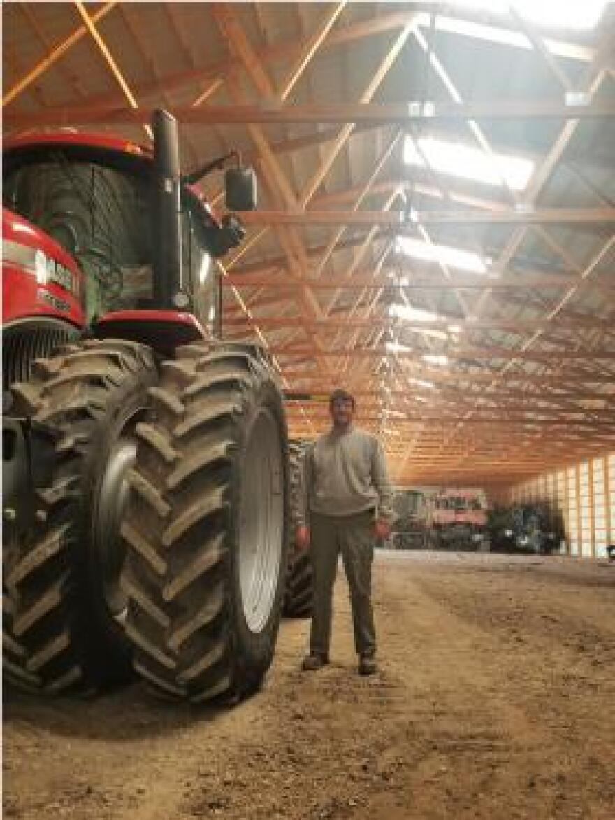 Grant Strom is a farmer in Knox County, Illinois, and president of the county Farm Bureau. He says trade is on a lot of people's minds right now, but many are locked into a crop rotation they don't want or can't afford to change.