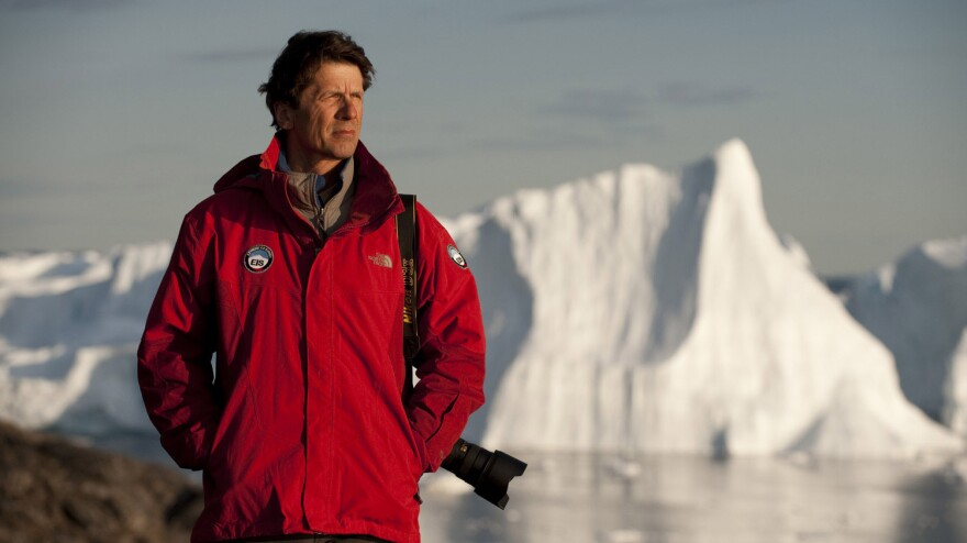 Environmental photographer James Balog captures a multiyear record of the world's glaciers in <em>Chasing Ice</em>.