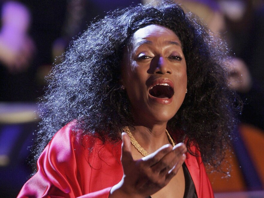 It's been one year since the death of the great soprano Jessye Norman, photographed here in 2006 in Germany.