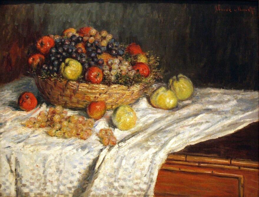Monet's<em> Apples and Grapes</em>, circa 1879-80