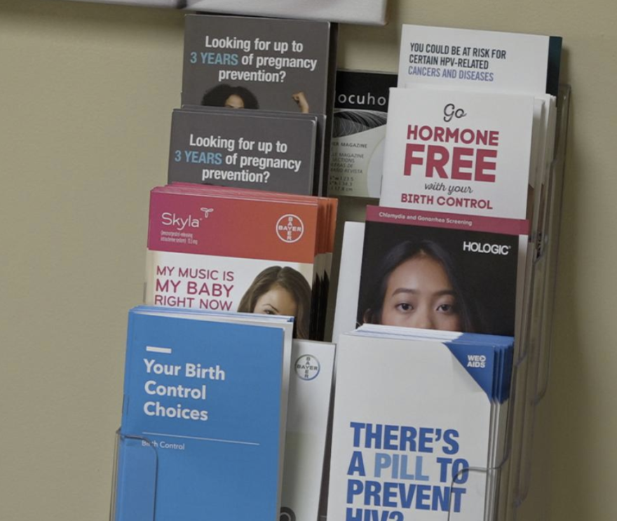 pamphlets from a Planned Parenthood
