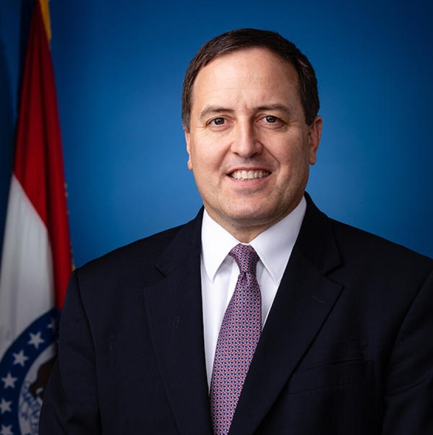 Missouri Secretary of State Jay Ashcroft.