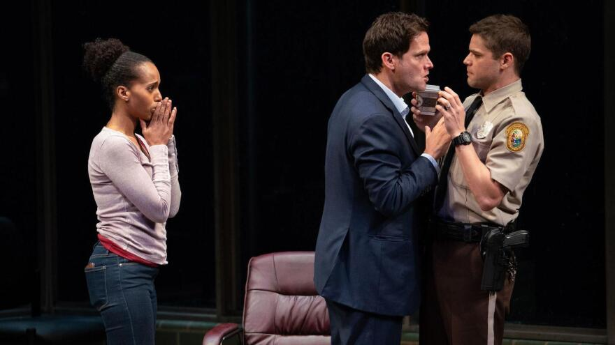 """Actors Kerry Washington, Steven Pasquale and Jeremy Jordan will reprise their Broadway roles in Christopher Demos-Brown's """"American Son"""" for a Netflix production coming soon."""