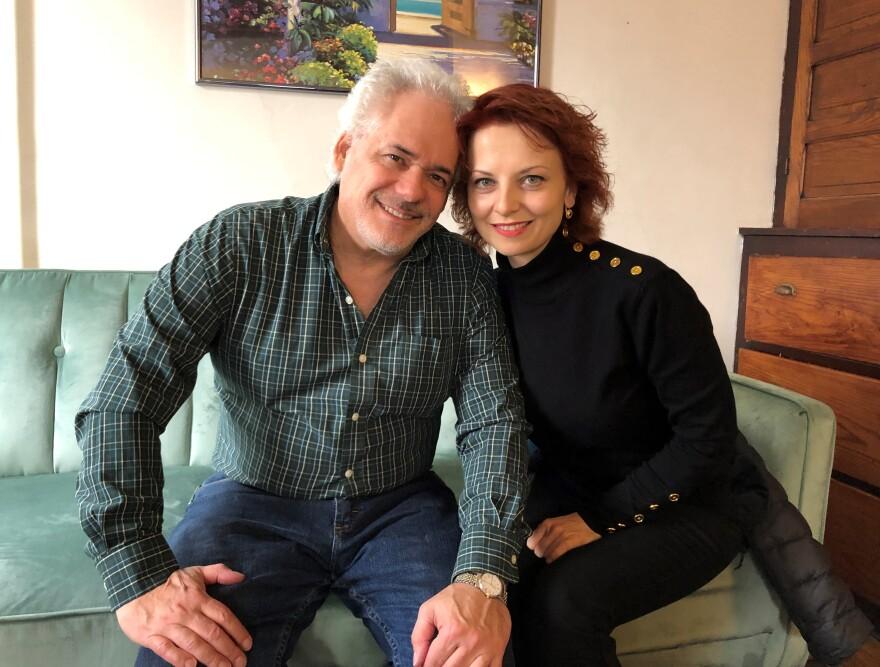 photo of Ethan Krauss and Elena Loskova