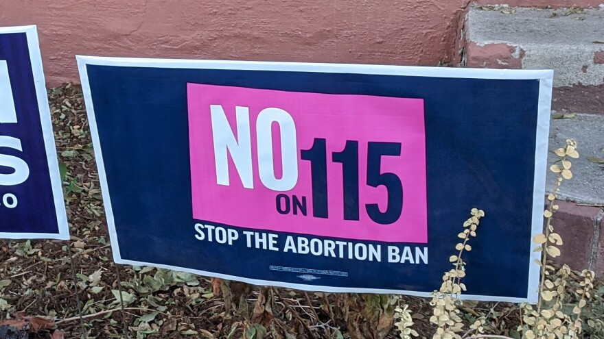 Coloradans voters reject ban on late-term abortions in 2020 Election.