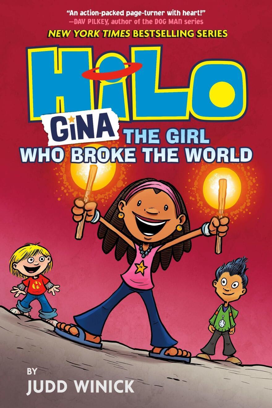 <em>Gina: The Girl Who Broke the World</em>, by Judd Winick