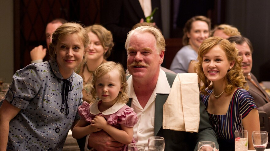 Amy Adams has played a fairy tale princess, a pal of the Muppets, and a curious home cook. She's currently playing Peggy Dodd (left), the wife of a charismatic cult leader, in the critically acclaimed film <em>The Master</em>.