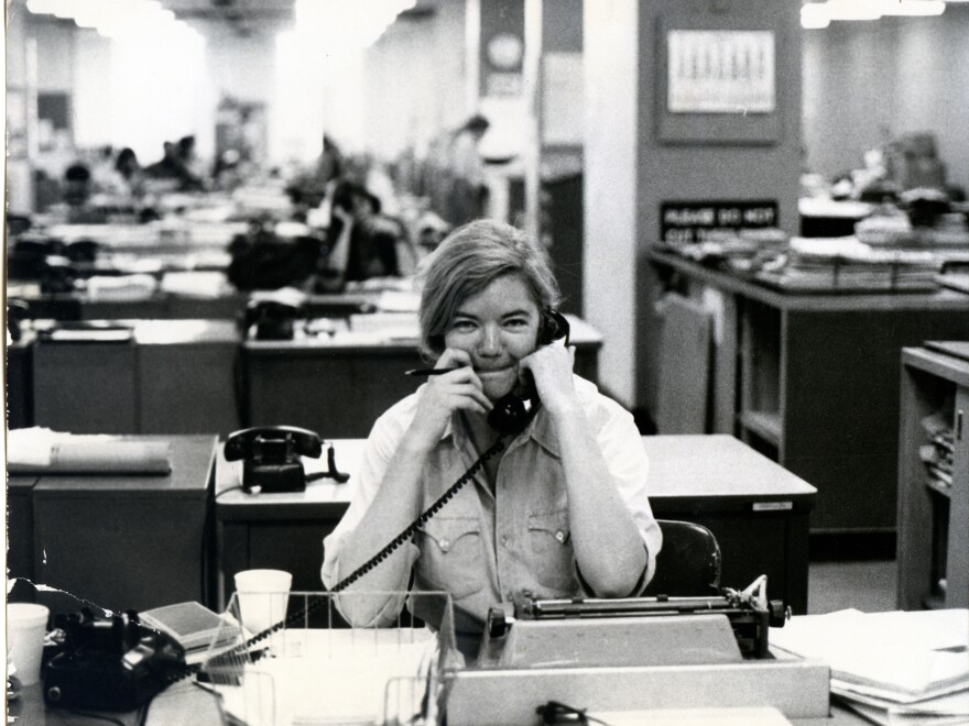 Following her time at the <em>Texas Observer</em>, Ivins had a stint in the newsroom of <em>The New York Times </em>from 1976-82.