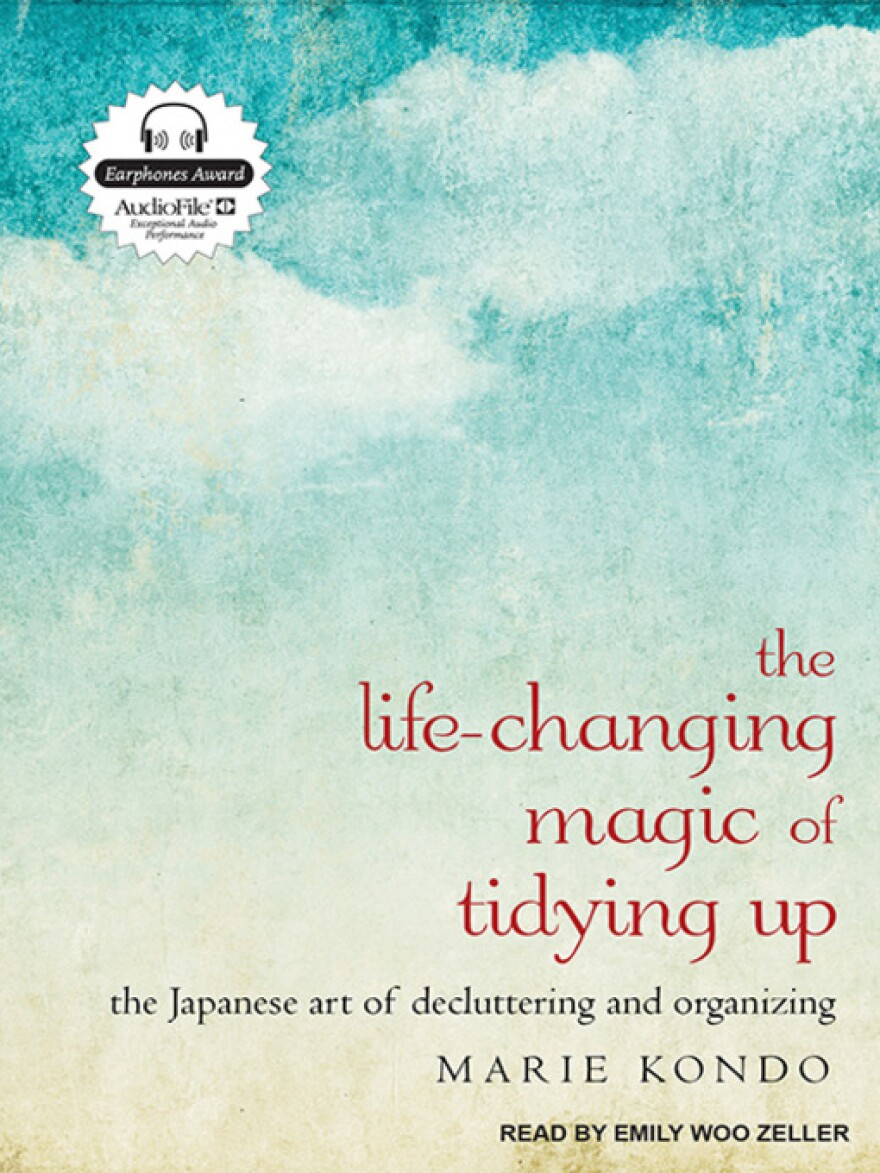 """Life-changing Magic of Tidying Up"" is the most popular digital non-fiction book at San Antonio Public Library in 2017."