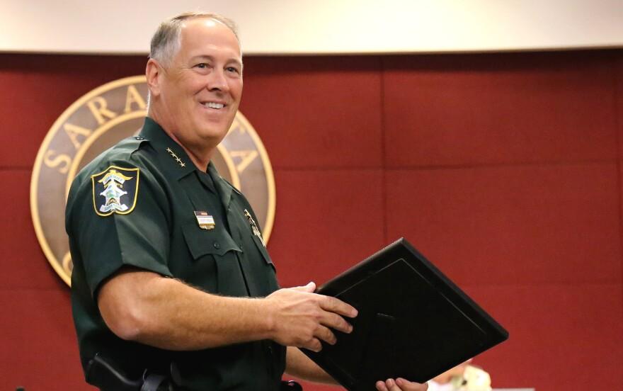 Sarasota County Sheriff Tom Knight