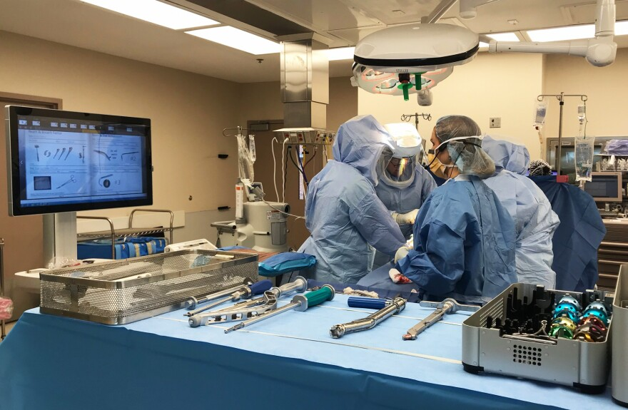 Ochsner Baptist Medical Center in New Orleans hasn't needed device reps' help since it started using technology from a company called Sight Medical that handles inventory management.