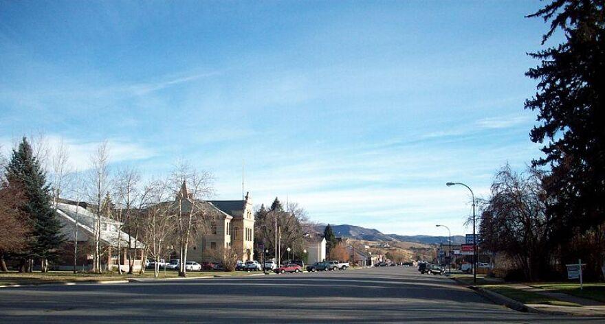 Photo of Coalville, Utah.