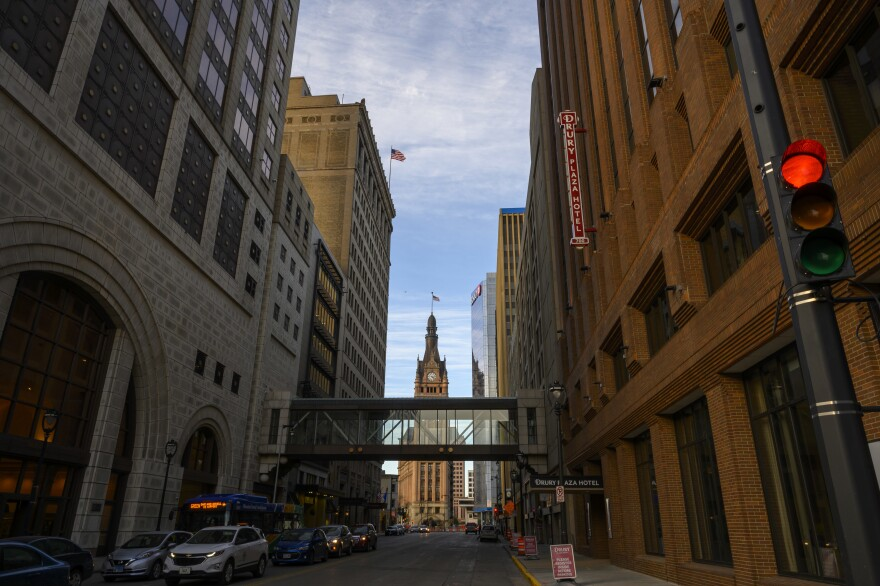 Milwaukee will host The 2020 Democratic National Convention in July. Wisconsin is deeply purple and with many recent statewide elections won by slim margins, both parties are saying they'll fight for votes.