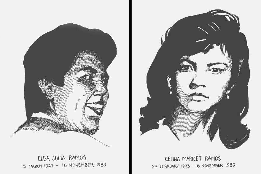 Cook Julia Elba Ramos and her 16-year-old daughter Celina Maricet Ramos were among the eight killed in 1989.