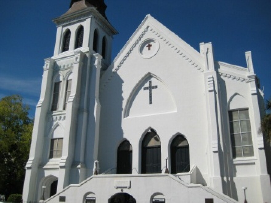 Emanuel AME Church in Charleston.