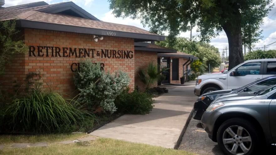 Retirement and nursing care facility exterior