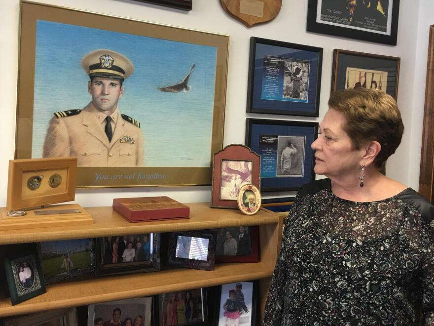 Ann Mills-Griffiths has spent almost 40 years leading the National League of POW/MIA Families. Her brother is a missing naval aviator.