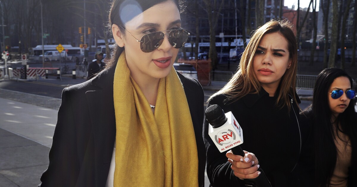Wife Of 'El Chapo' Arrested In U.S. On Drug Charges