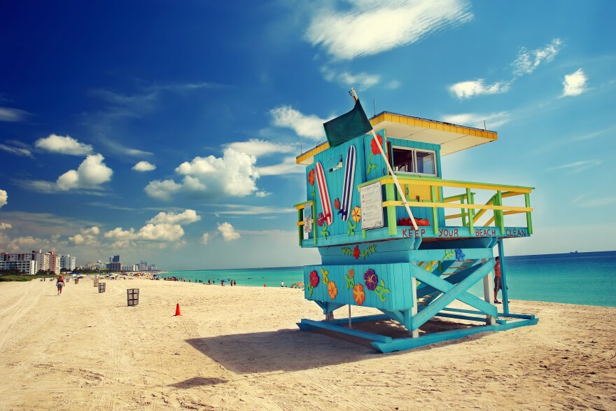 Visit Florida is hoping people in nearby states will want to vacation in Florida