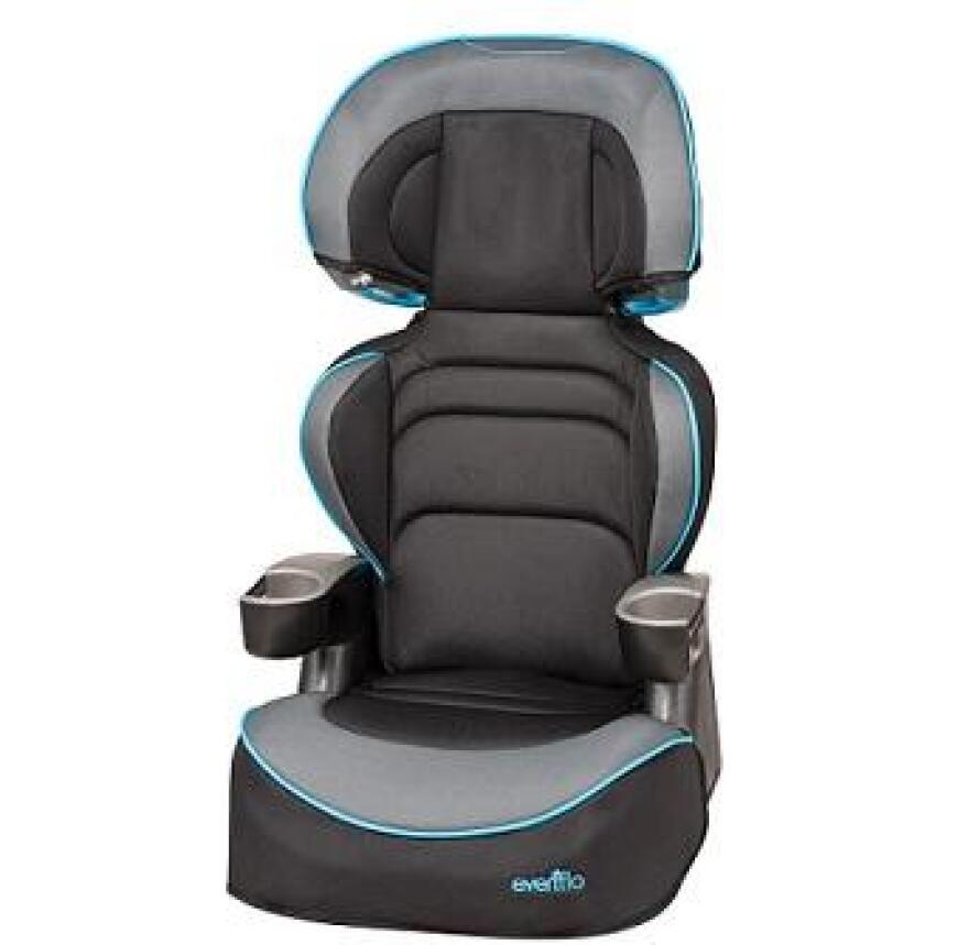 Evenflo's Big Kid Booster Seat.