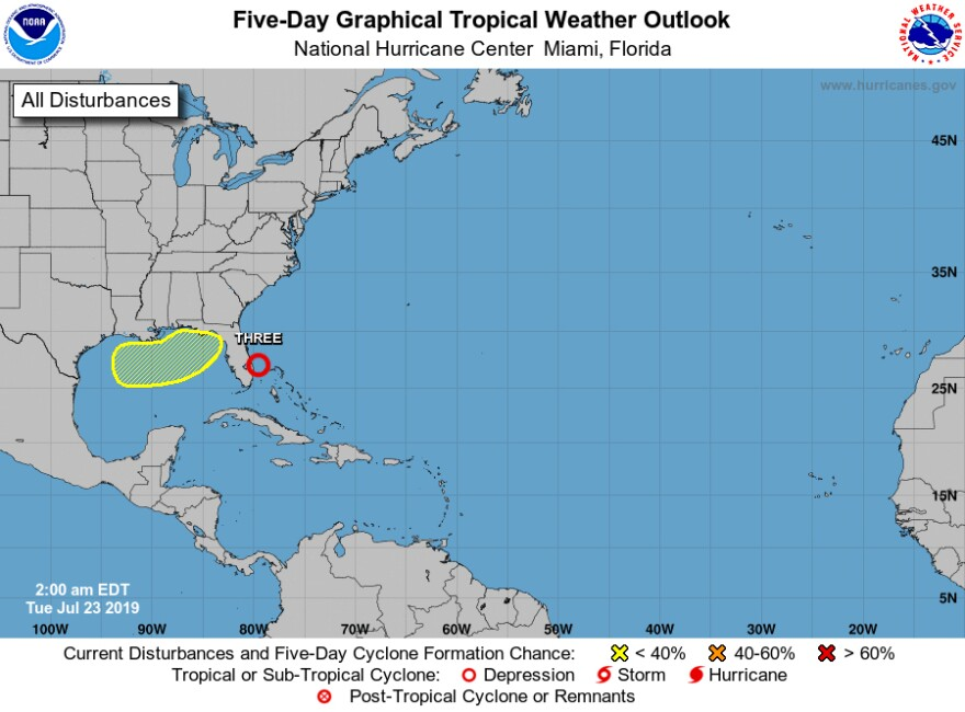 Forecasters are monitoring a cold front that could pose a much more serious impact in the northern Gulf of Mexico, and the Tampa Bay area.