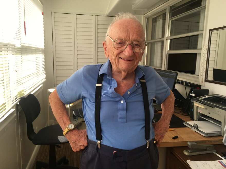 Ben Ferencz is now 96 years old. He's the last surviving chief prosecutor of the Nuremberg trials.