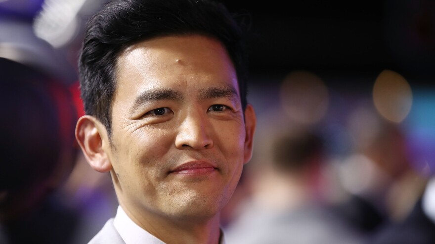 John Cho's film credits include Harold in the raunchy <em>Harold and Kumar</em> comedies and Sulu in <em>Star Trek Beyond.</em>