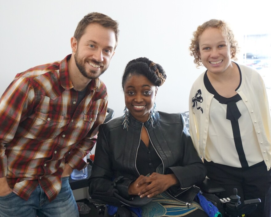 """(L-R) Dan Parris, Erica Renee Walker and Letisha Wexstten joined Thursday's """"St. Louis on the Air"""" to discuss opportunities for underrepresented people in the film industry."""