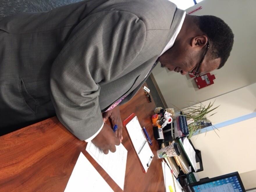Tallahassee resident Darryl Jones files for Leon County School Board. He's challenging incumbent Maggie Lewis-Butler.