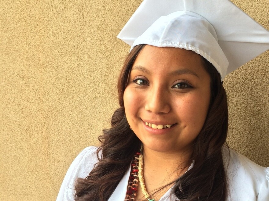 As Crystal Puhuyesva, 19, graduates from high school, she says family, friends and the Benallys have inspired her to fulfill her dream of becoming a nurse.
