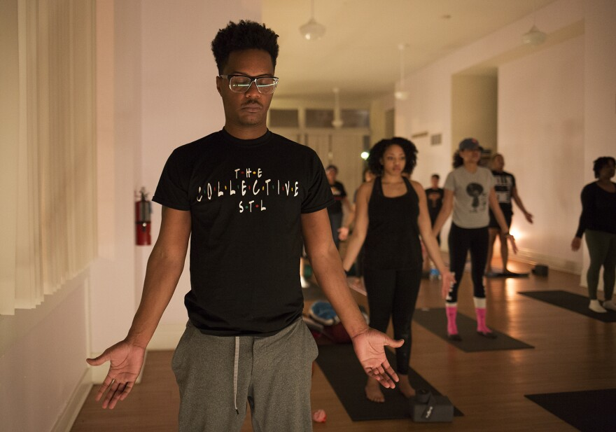 Instructor and founder, Terry Harris, said the biggest frustration he had with yoga was that it was not welcoming. He said while visiting other studios he felt as if he was not seen or validated.