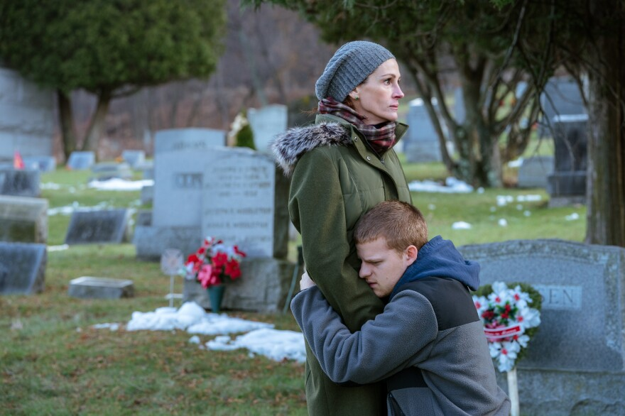 In <em>Ben Is Back</em>, Julia Roberts plays a mother whose son, an opioid addict, unexpectedly returns home on Christmas Eve.