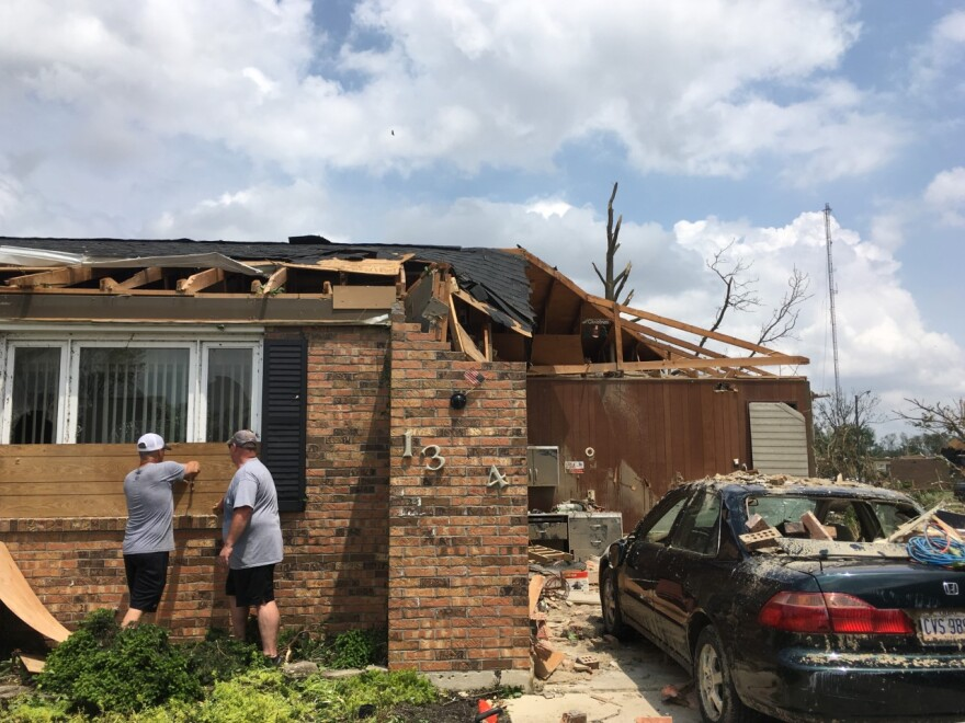 National Weather Service investigators are continuing to survey the damage littering the Miami Valley region after the  Memorial Day storms that killed one person and injured dozens more.