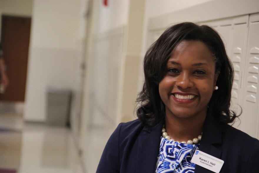 Maplewood-Richmond Heights Superintendent Karen Hall