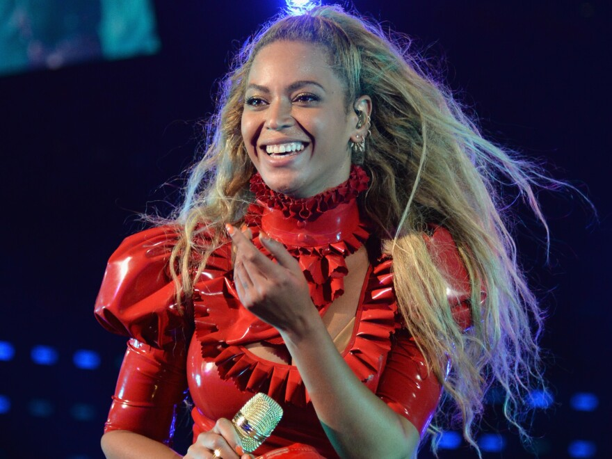 """Beyoncé performs onstage during """"The Formation World Tour"""" at Levi's Stadium on Sept. 17 in Santa Clara, California."""