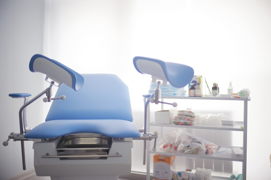 abortion clinic room