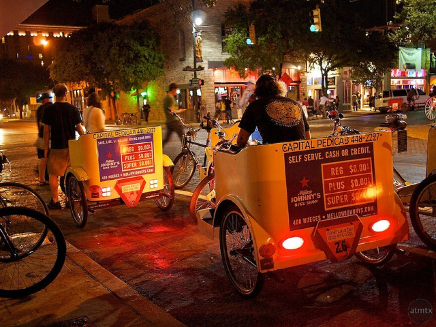 Pedicab rules regarding insurance, fares and more passed at a City Council meeting today.